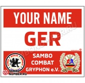 Sambo Backnumber SC «Gryphon e.V.» (red)